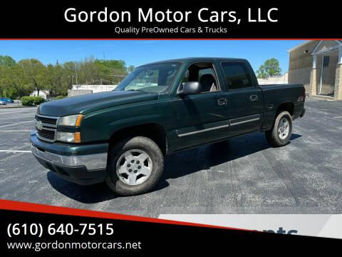 2006 Chevrolet Silverado 1500 for sale at Gordon Motor Cars, LLC in Frazer PA