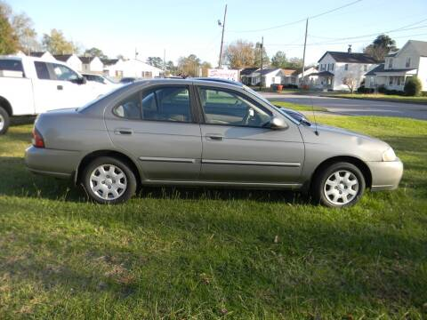 2002 Nissan Sentra for sale at SeaCrest Sales, LLC in Elizabeth City NC