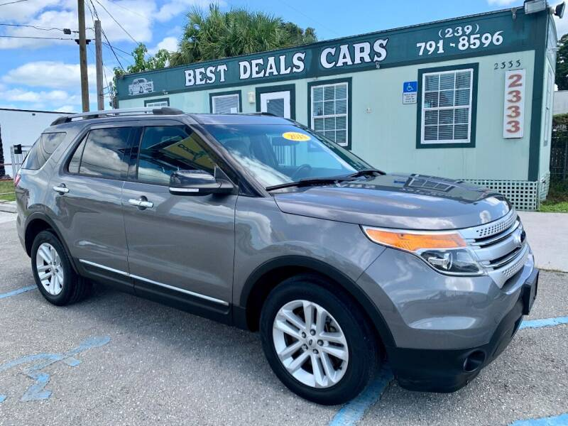 2014 Ford Explorer for sale at Best Deals Cars Inc in Fort Myers FL