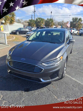 2020 Ford Fusion for sale at Sun Coast City Auto Sales in Mobile AL