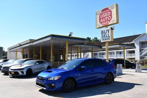 2018 Subaru WRX for sale at Houston Used Auto Sales in Houston TX