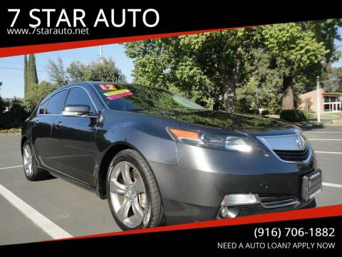 2012 Acura TL for sale at 7 STAR AUTO in Sacramento CA