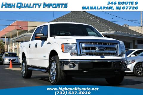 2013 Ford F-150 for sale at High Quality Imports in Manalapan NJ