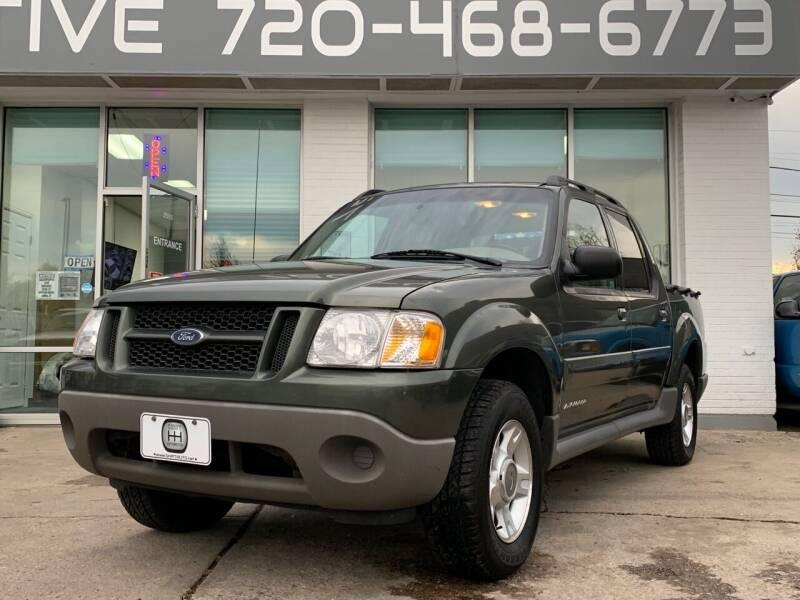 2001 Ford Explorer Sport Trac for sale at Shift Automotive in Denver CO