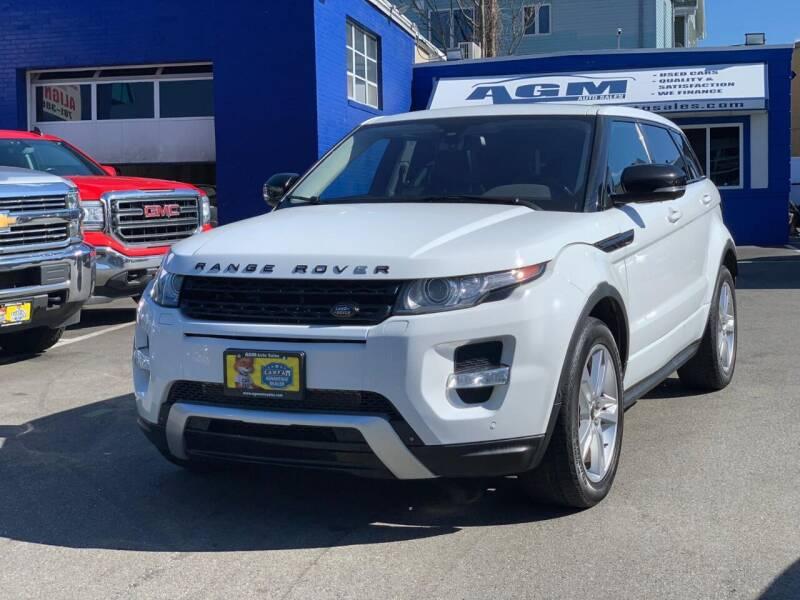 2013 Land Rover Range Rover Evoque for sale at AGM AUTO SALES in Malden MA