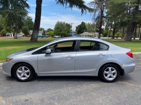 2012 Honda Civic for sale at California Diversified Venture in Livermore CA