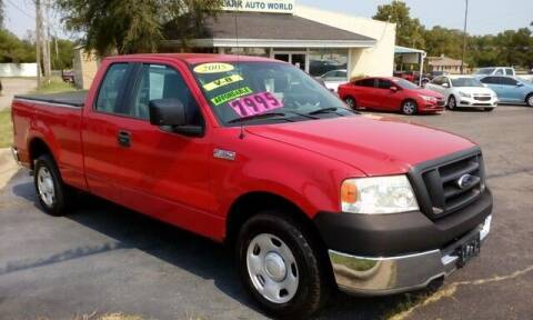 2005 Ford F-150 for sale at Jim Clark Auto World in Topeka KS