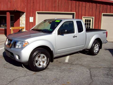 2012 Nissan Frontier for sale at Clift Auto Sales in Annville PA