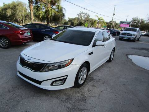 2014 Kia Optima for sale at S & T Motors in Hernando FL