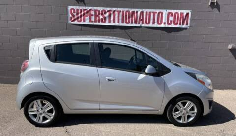 2014 Chevrolet Spark for sale at Superstition Auto in Mesa AZ