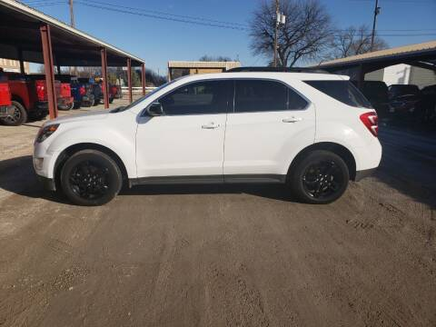 2017 Chevrolet Equinox for sale at Faw Motor Co in Cambridge NE