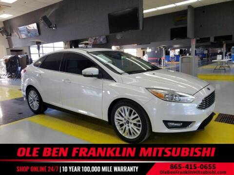 2018 Ford Focus for sale at Ole Ben Franklin Mitsbishi in Oak Ridge TN