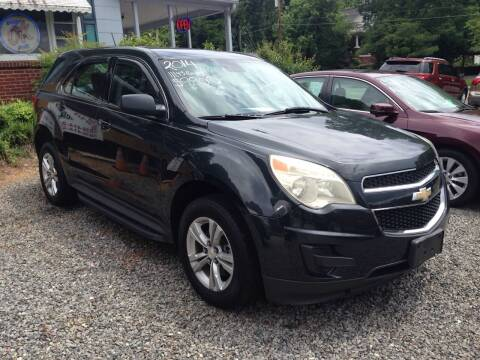 2014 Chevrolet Equinox for sale at Venable & Son Auto Sales in Walnut Cove NC
