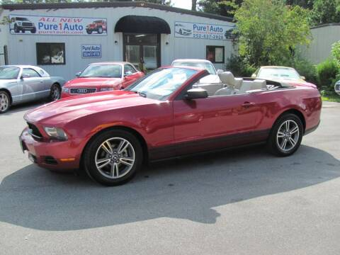 2010 Ford Mustang for sale at Pure 1 Auto in New Bern NC