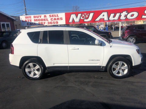 2014 Jeep Compass for sale at N & J Auto Sales in Warsaw IN