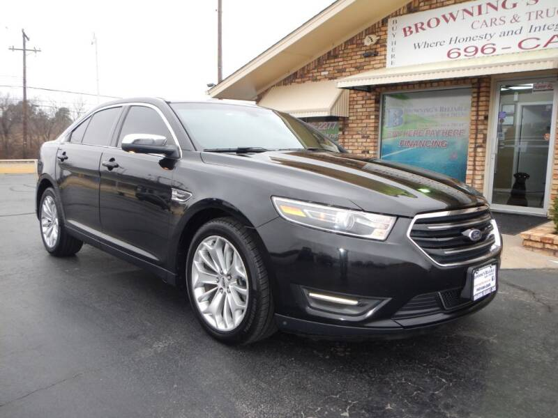 2015 Ford Taurus for sale at Browning's Reliable Cars & Trucks in Wichita Falls TX