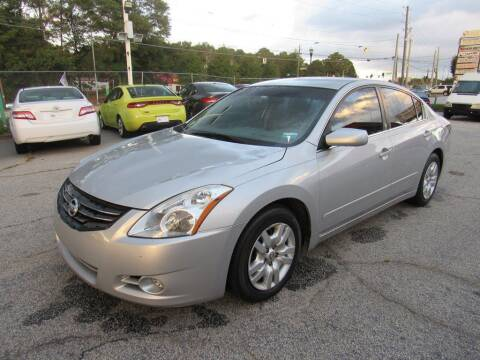 2012 Nissan Altima for sale at King of Auto in Stone Mountain GA