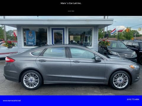 2014 Ford Fusion for sale at Marv`s Car Lot Inc. in Zeeland MI