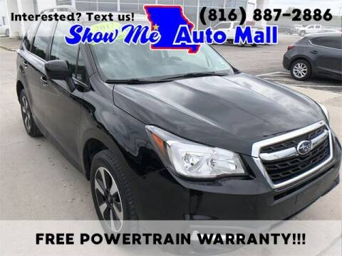 2017 Subaru Forester for sale at Show Me Auto Mall in Harrisonville MO