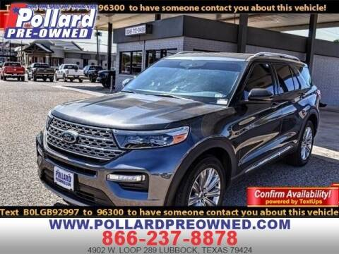 2020 Ford Explorer for sale at South Plains Autoplex by RANDY BUCHANAN in Lubbock TX