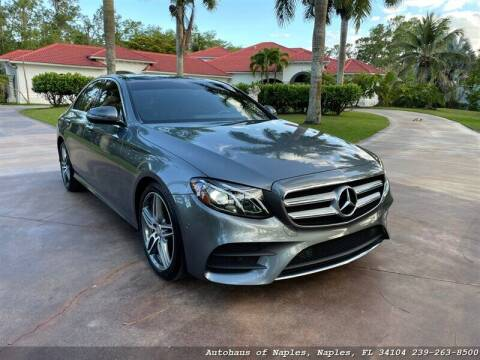 2017 Mercedes-Benz E-Class for sale at Autohaus of Naples in Naples FL