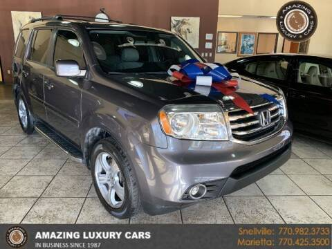 2015 Honda Pilot for sale at Amazing Luxury Cars in Snellville GA