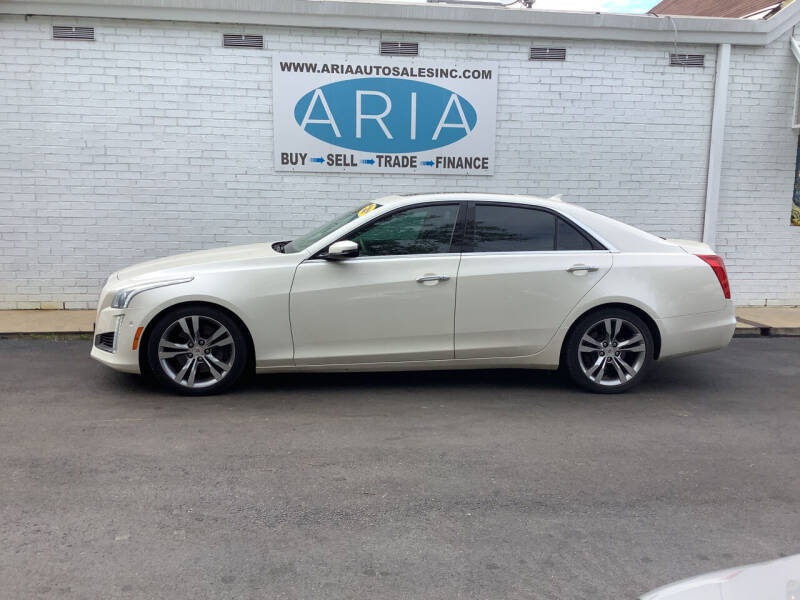 2014 Cadillac CTS for sale at ARIA  AUTO  SALES in Raleigh NC