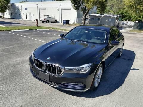 2016 BMW 7 Series for sale at Best Price Car Dealer in Hallandale Beach FL