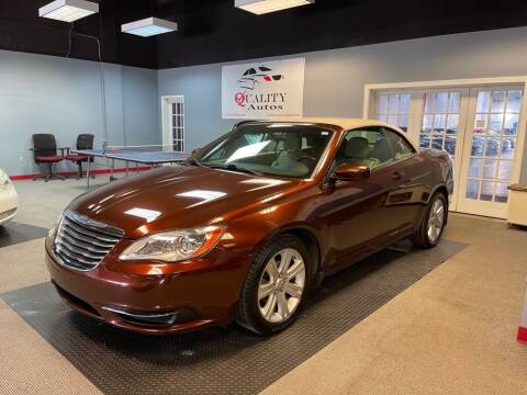 2012 Chrysler 200 Convertible for sale at Quality Autos in Marietta GA