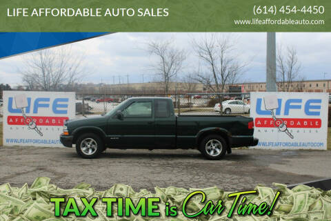 2003 Chevrolet S-10 for sale at LIFE AFFORDABLE AUTO SALES in Columbus OH