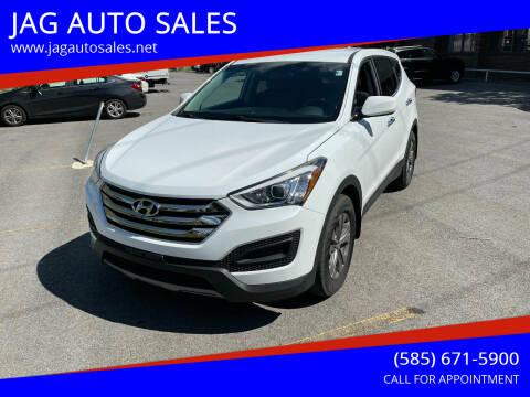 2015 Hyundai Santa Fe Sport for sale at JAG AUTO SALES in Webster NY