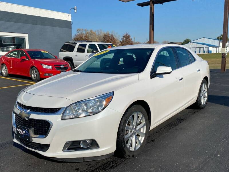 2015 Chevrolet Malibu for sale at Eagle Auto LLC in Green Bay WI