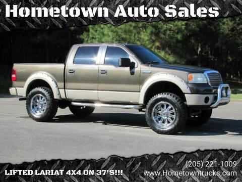 2008 Ford F-150 for sale at Hometown Auto Sales - Trucks in Jasper AL