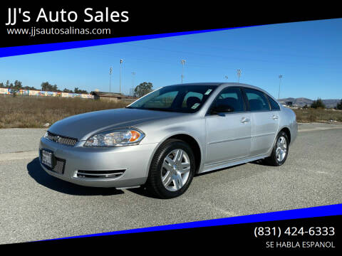 2013 Chevrolet Impala for sale at JJ's Auto Sales in Salinas CA