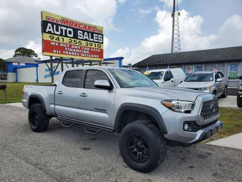 2018 Toyota Tacoma for sale at Mox Motors in Port Charlotte FL