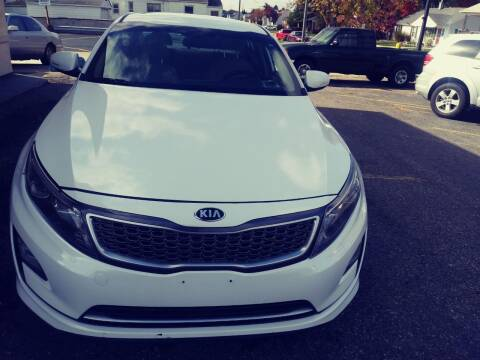 2015 Kia Optima Hybrid for sale at GREAT DEAL AUTO SALES in Center Line MI