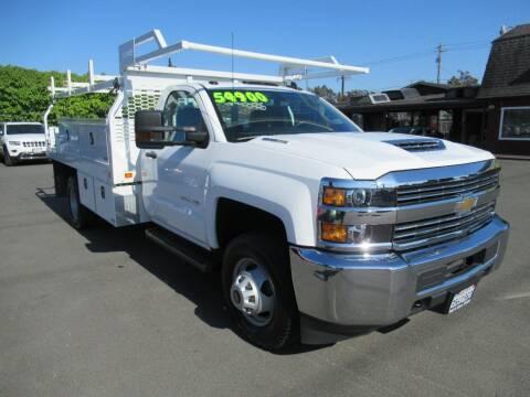 2018 Chevrolet Silverado 3500HD CC for sale at Tonys Toys and Trucks in Santa Rosa CA