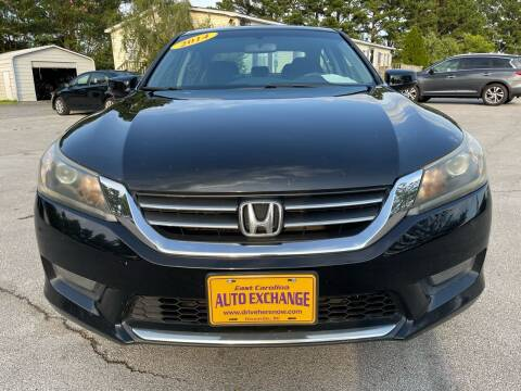 2014 Honda Accord for sale at Greenville Motor Company in Greenville NC