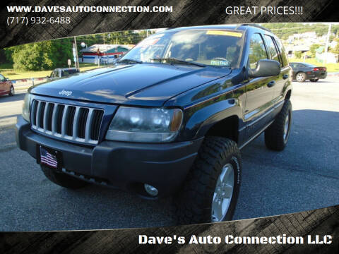 2004 Jeep Grand Cherokee for sale at Dave's Auto Connection LLC in Etters PA