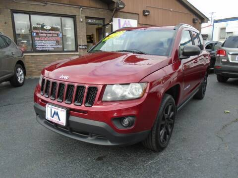 2012 Jeep Compass for sale at IBARRA MOTORS INC in Cicero IL