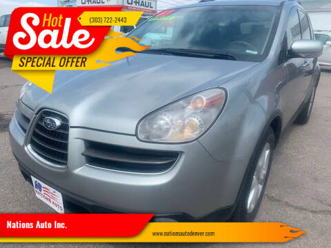 2007 Subaru B9 Tribeca for sale at Nations Auto Inc. in Denver CO