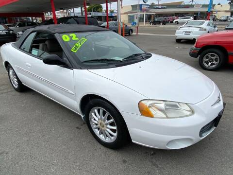 2002 Chrysler Sebring for sale at North County Auto in Oceanside CA