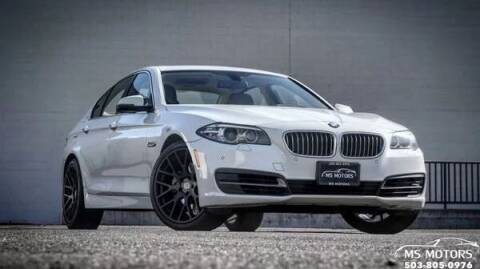 2014 BMW 5 Series for sale at MS Motors in Portland OR
