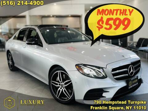 2020 Mercedes-Benz E-Class for sale at LUXURY MOTOR CLUB in Franklin Square NY