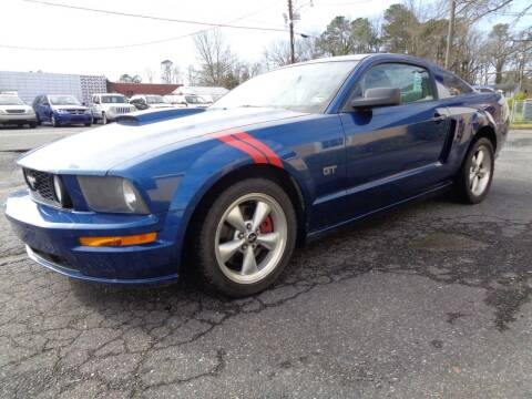 2007 Ford Mustang for sale at Liberty Motors in Chesapeake VA