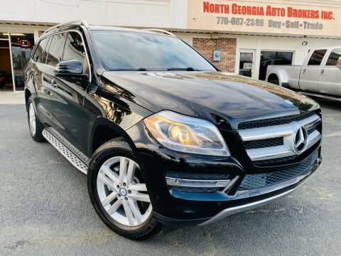 2014 Mercedes-Benz GL-Class for sale at North Georgia Auto Brokers in Snellville GA