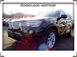 2017 BMW X3 for sale at Rockland Automall - Rockland Motors in West Nyack NY