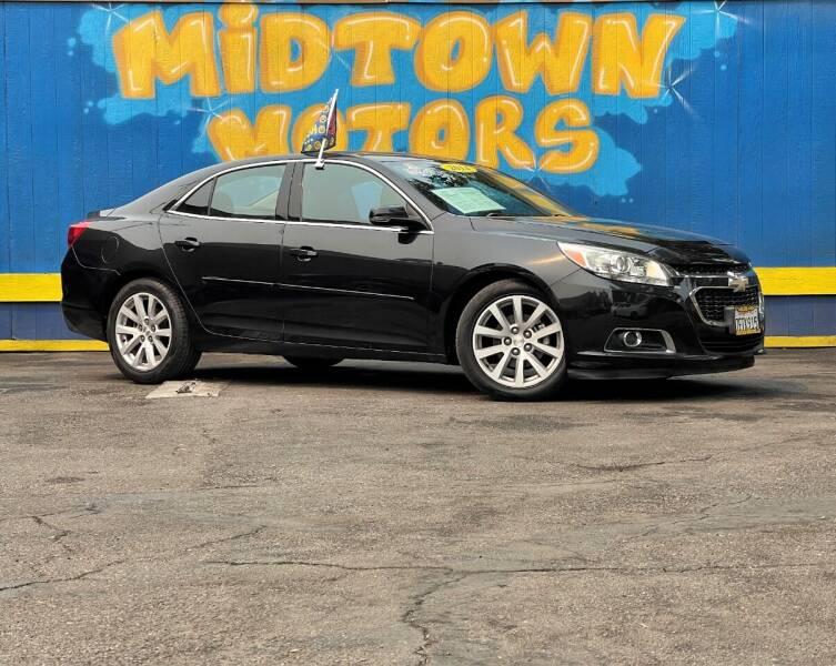 2014 Chevrolet Malibu for sale at Midtown Motors in San Jose CA