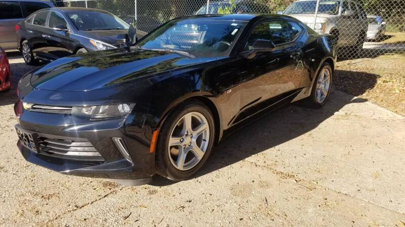 2016 Chevrolet Camaro for sale at Bundy Auto Sales in Sumter SC