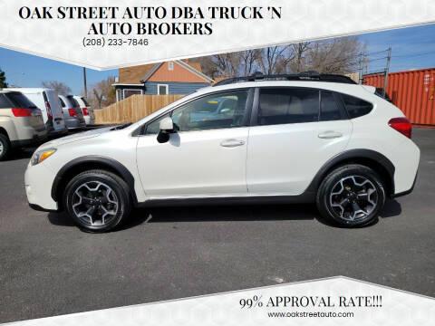 2014 Subaru XV Crosstrek for sale at Oak Street Auto DBA Truck 'N Auto Brokers in Pocatello ID